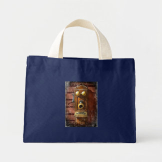Steampunk - Phone Phace Tote Bag
