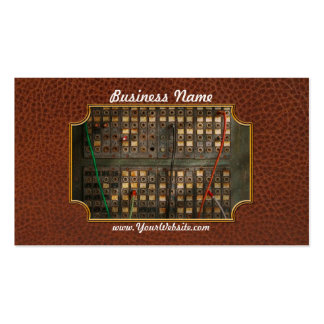 Steampunk - Phones - The old switch board Business Card