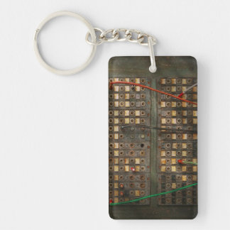 Steampunk - Phones - The old switch board Keychain
