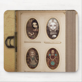 Steampunk Photo Album Mousepad