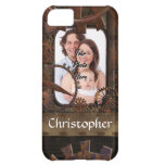 Steampunk photo background iPhone 5C cases
