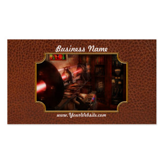Steampunk - Photonic Experimentation Business Card Template