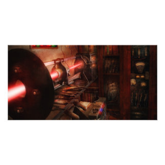 Steampunk - Photonic Experimentation Photo Greeting Card
