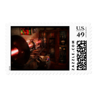 Steampunk - Photonic Experimentation Postage Stamp