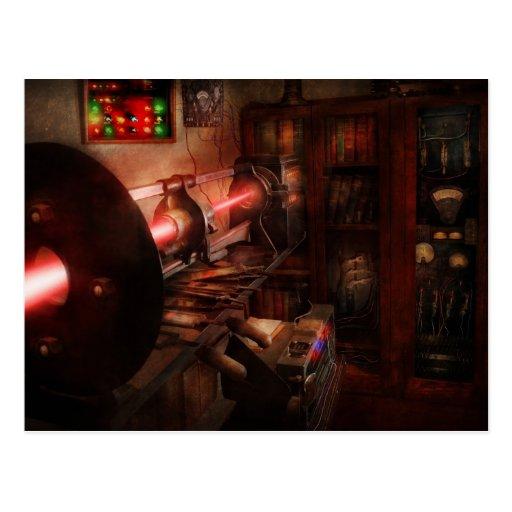 Steampunk - Photonic Experimentation Postcard