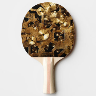 Steampunk Ping-Pong Paddle
