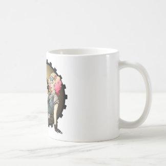 Steampunk Pinup - Airship Pilot Coffee Mug
