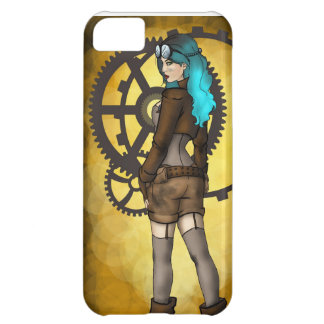 Steampunk Pinup Girl iPhone 5C Case