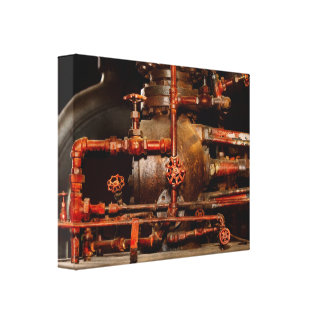 Steampunk - Pipe dreams Canvas Print