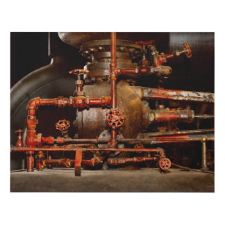 Steampunk - Pipe dreams Panel Wall Art