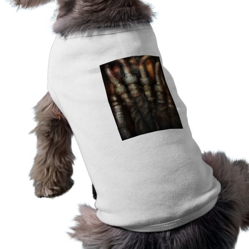 Steampunk - Pipes Doggie T-shirt