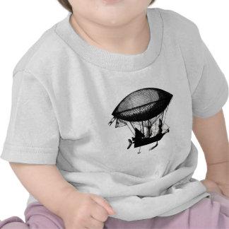 Steampunk pirate airship tees