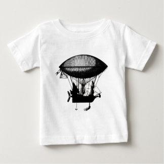 Steampunk pirate airship shirt