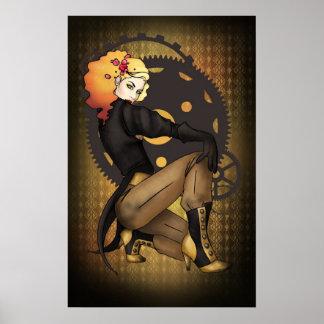 Steampunk Pirate Propaganda Posters