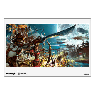 Steampunk Pirates Wall Decal