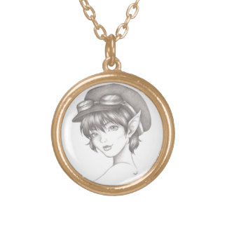 Steampunk Pixie Necklace