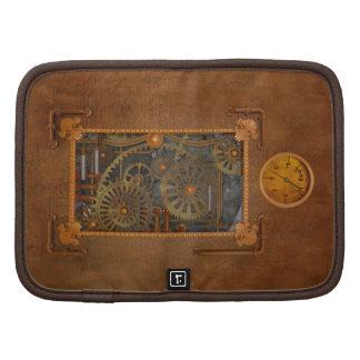 Steampunk Folio Planner