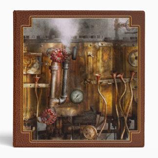 Steampunk - Plumbing - Distilation apparatus Binder