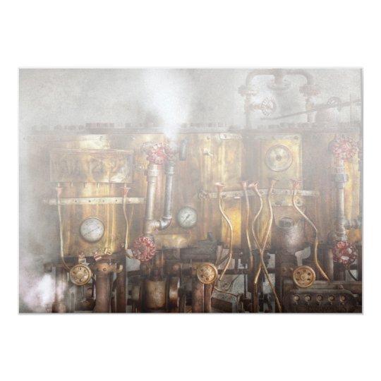 Steampunk - Plumbing - Distilation apparatus Card