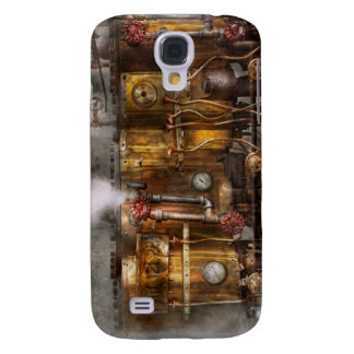 Steampunk - Plumbing - Distilation apparatus Galaxy S4 Cover