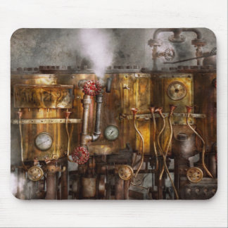 Steampunk - Plumbing - Distilation apparatus Mouse Pad