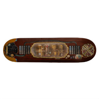 Steampunk - Plumbing - Distilation apparatus Skateboards
