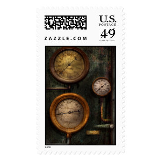 Steampunk - Plumbing - Gauging success Postage Stamps