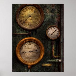 Steampunk - Plumbing - Gauging success Posters