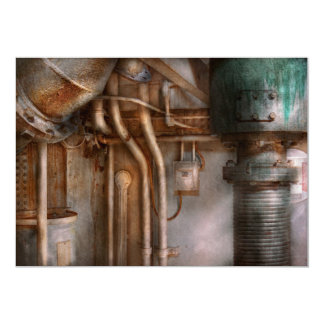 Steampunk - Plumbing - Industrial abstract Announcements