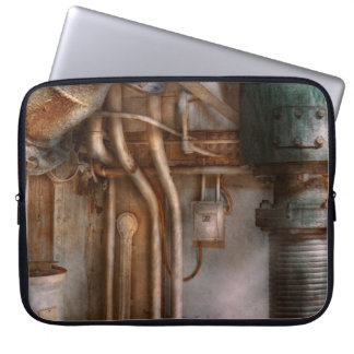 Steampunk - Plumbing - Industrial abstract Laptop Computer Sleeves