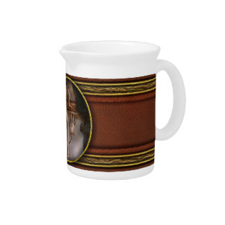 Steampunk - Plumbing - Industrial abstract Beverage Pitchers