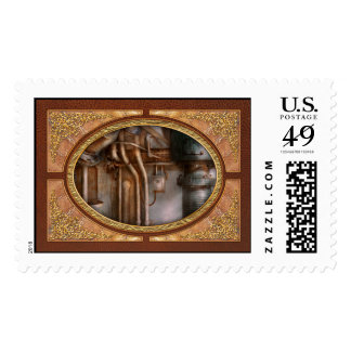 Steampunk - Plumbing - Industrial abstract Stamps