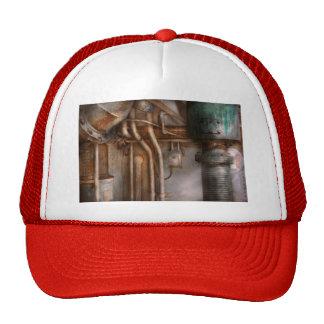 Steampunk - Plumbing - Industrial abstract Trucker Hat