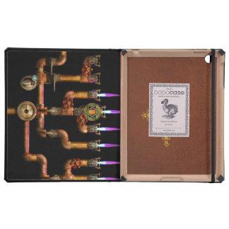 Steampunk - Plumbing - Lighting the Menorah iPad Covers
