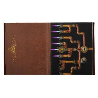 Steampunk - Plumbing - Lighting the Menorah iPad Folio Case