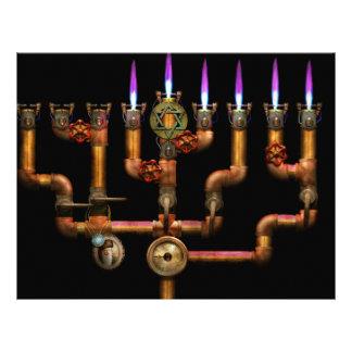 Steampunk - Plumbing - Lighting the Menorah Flyer