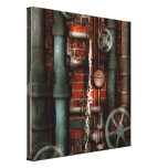 Steampunk - Plumbing - Pipes and Valves Stretched Canvas Prints