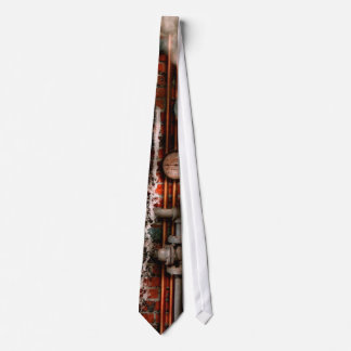 Steampunk - Plumbing - Pipes and Valves Neck Tie
