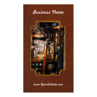 Steampunk - Plumbing - Pipes Business Cards