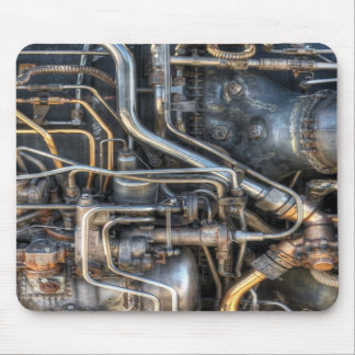 Steampunk Plumbing Pipes Mouse Pad