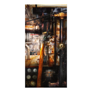 Steampunk - Plumbing - Pipes Photo Cards
