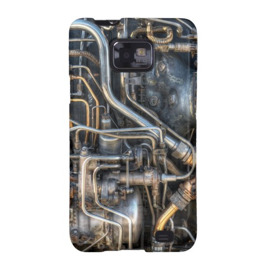 Steampunk Plumbing Pipes Samsung Galaxy SII Cover