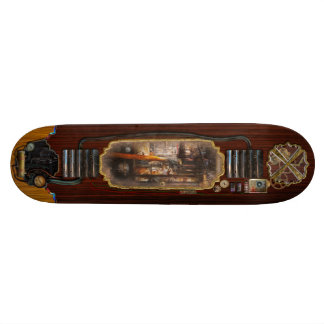 Steampunk - Plumbing - Pipes Skate Boards