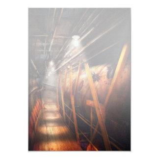 Steampunk - Plumbing - The hallway Card