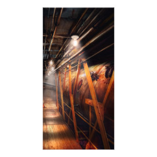 Steampunk - Plumbing - The hallway Photo Card Template