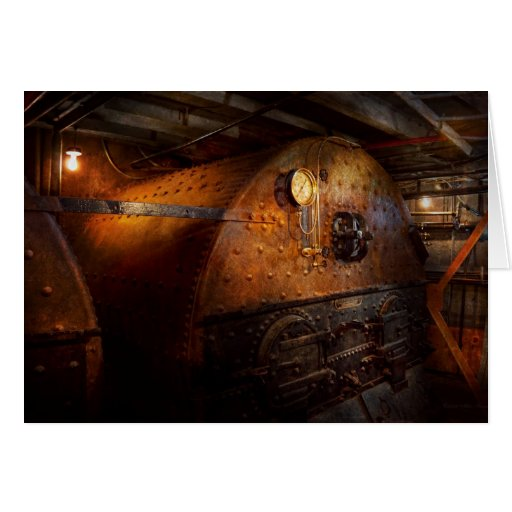 Steampunk - Plumbing - The home of a stoker Cards