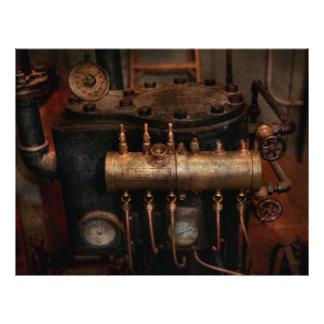 Steampunk - Plumbing - The valve matrix Custom Flyer