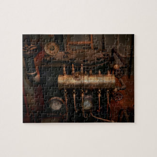 Steampunk - Plumbing - The valve matrix Jigsaw Puzzle