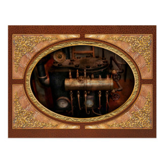 Steampunk - Plumbing - The valve matrix Postcard