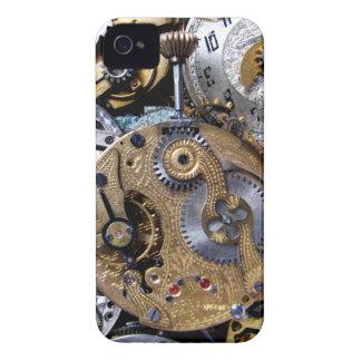 steampunk pocket watch iPhone 4 case